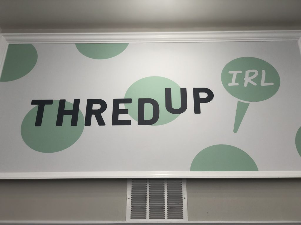 """caa95f63792 ... about how thredUP started opening up stores – called thredUP IRL (""""in  real life"""").  ~ Millennial talk lol. They had a pop up shop in Walnut Creek  in the ..."""
